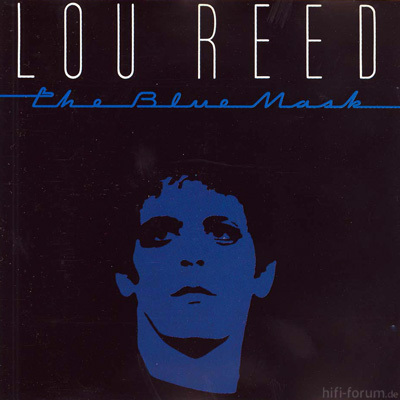 REED Lou 1982 THE BLUE MASK