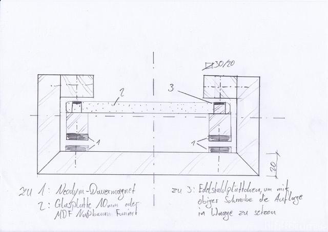 Zeichnung / Skizze