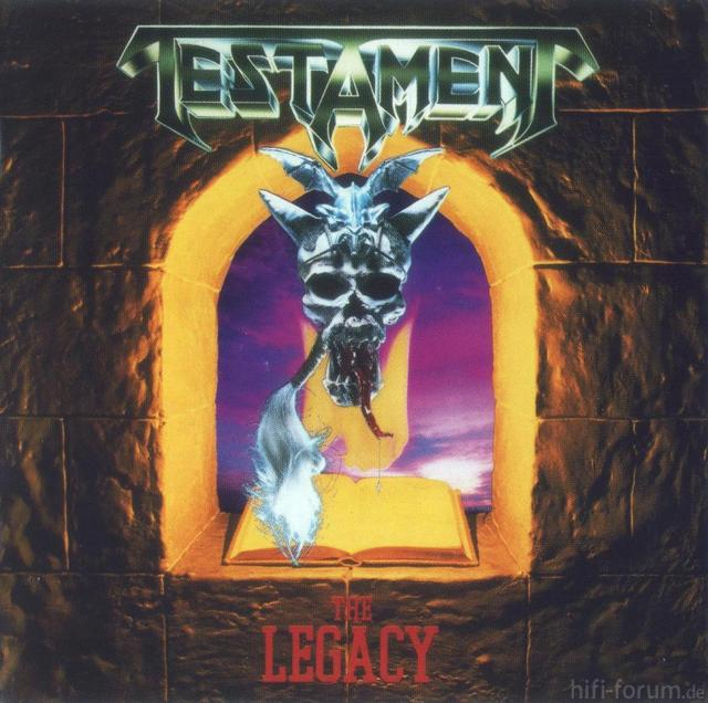 Testament   The Legacy   Front