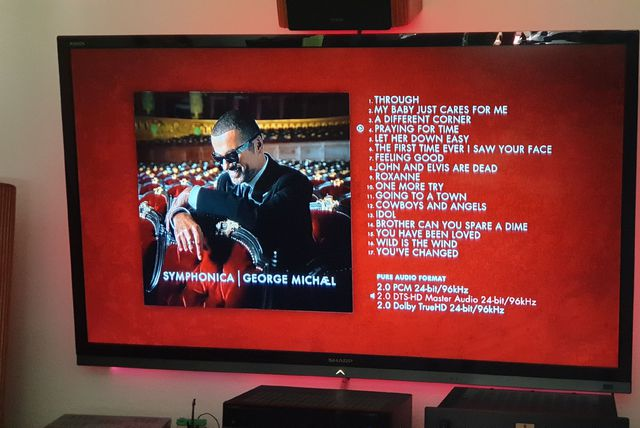 George Michael  Symphonica High Fidelity Pure Audio Blu Ray
