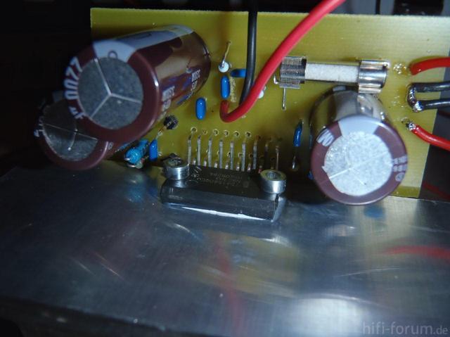 TDA1560 Verstärker