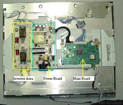 Samsung 713n LCD Repair