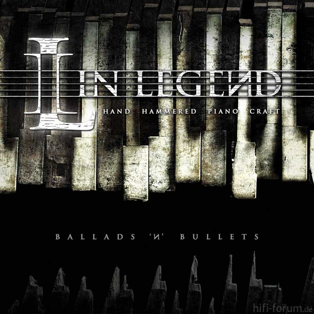 In Legend Ballads N Bullets Cover Web