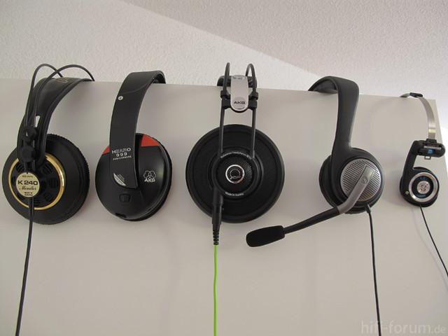 Kopfhörersammlung