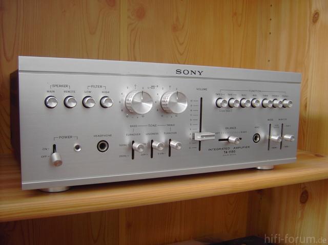 Sony Verst?rker TA 1150