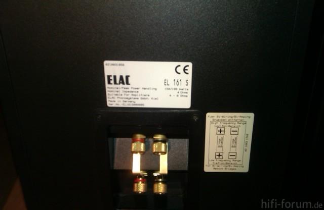 Elac EL 161 S