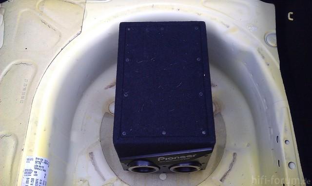 Pioneer TS-WX205 Im Seat Leon 1M