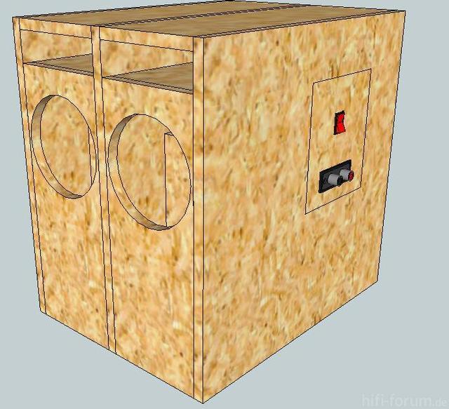 Portabler Bretterhaufen