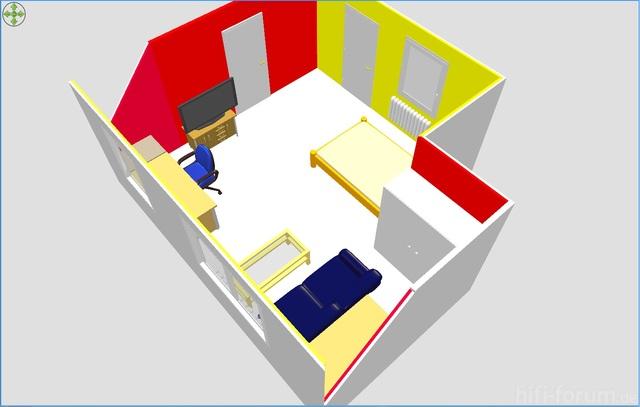 Sweet Home 3D - Zimmer 2