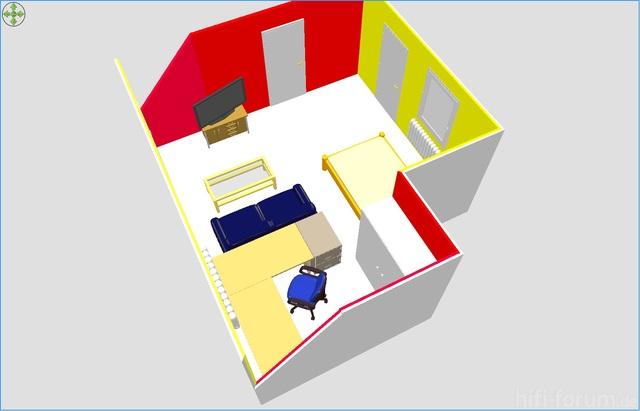 Sweet Home 3D - Zimmer 3