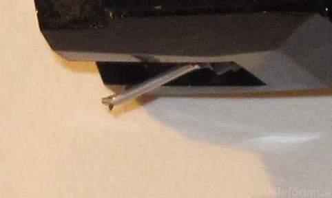 Nadel Des Audio Technica Tonabnehmers