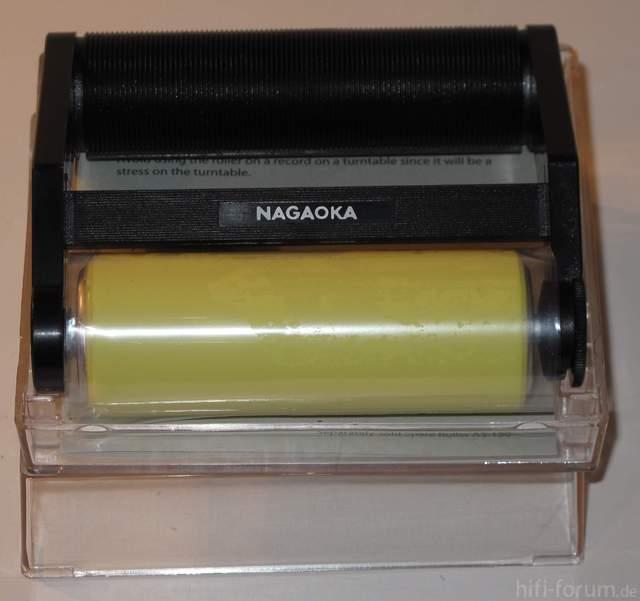 Plattenspieler Denon DP 37F 48   Reinigungsroller Nagaoka Rolling 152