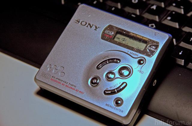 Sony MZ-R501