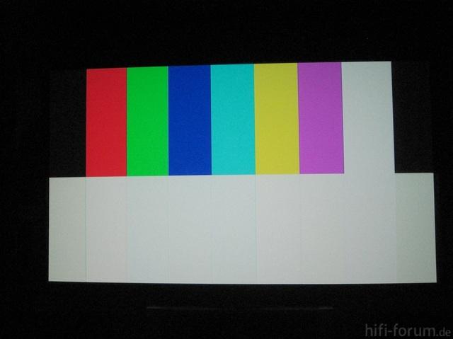 Panasonic Testbild Optoma