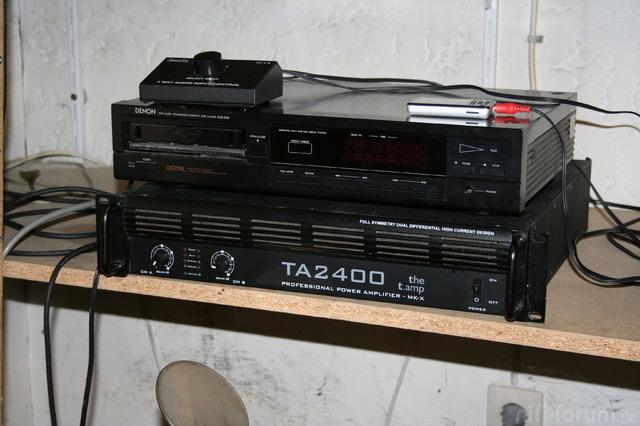 TA2400 + Denon DCD-600