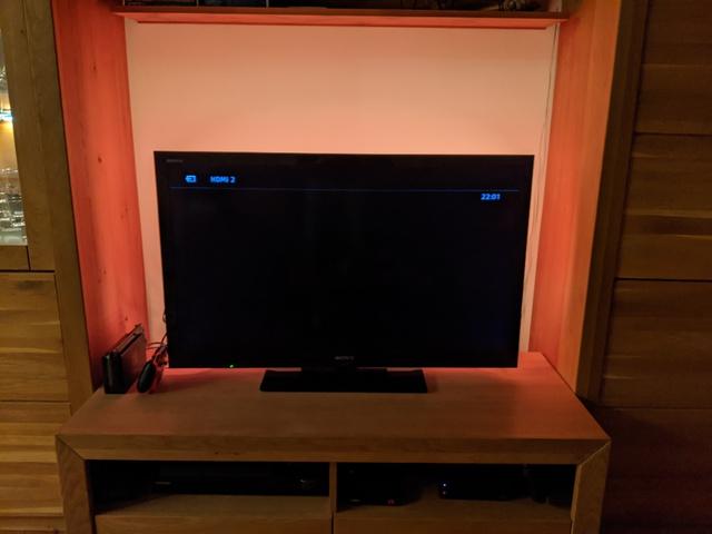 Fernseherposition