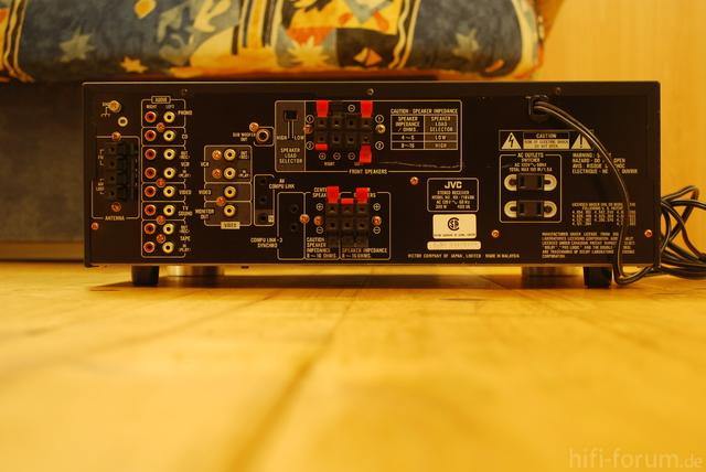 JVC RX718V