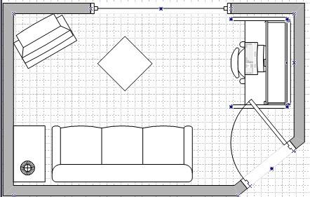 wie soll ich mein 5 1 system aufstellen mit raumskizze. Black Bedroom Furniture Sets. Home Design Ideas