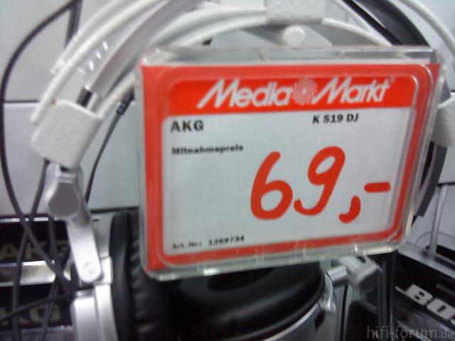 AKG K519 DJ