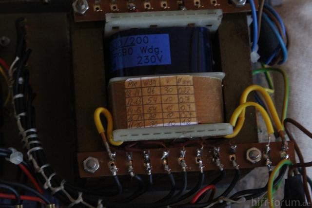 Netzteil - Transformator