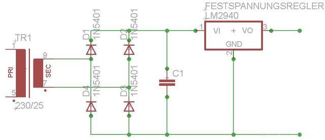 Schaltpan 12V Netzteil