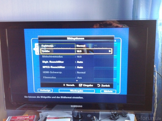 DVD Menü Mit TV Menü