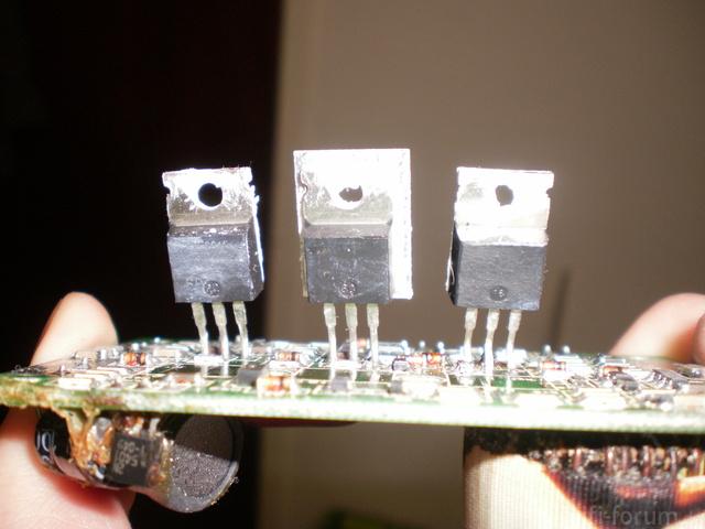 RCM Detanation Transistoren