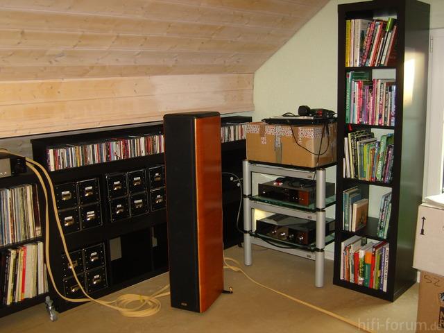 Dachgeschoss / Beginn Umbau Medienzimmer