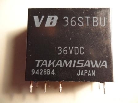 Relais Takamisawa Vb36stbu 2