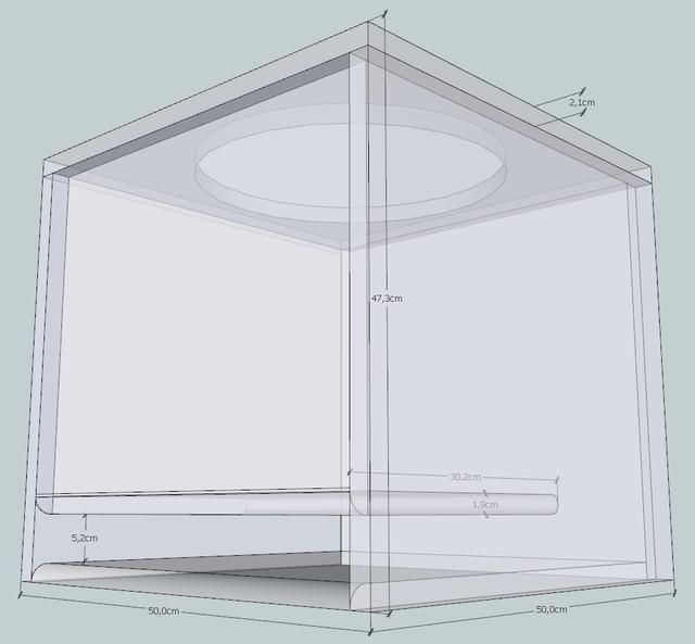 db drag subwoofergeh use berechnen und bauen f r 2x. Black Bedroom Furniture Sets. Home Design Ideas