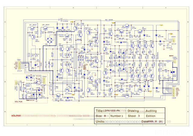 LD PA 1000 Schaltplan