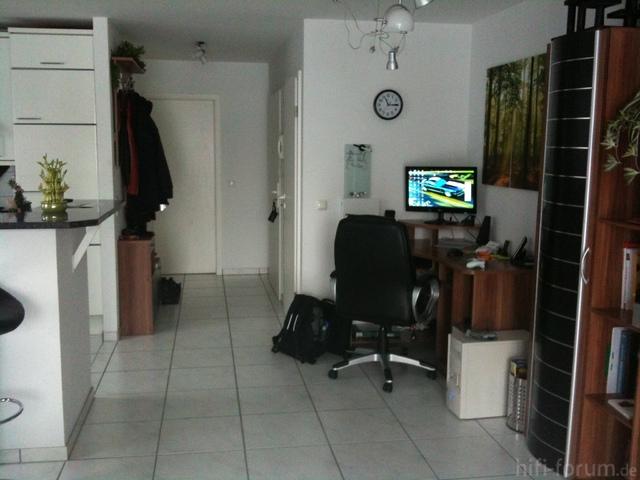 Wohnwand Schreibtisch