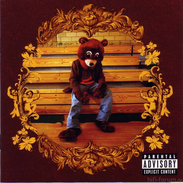 Kanye West The College Dropout Front