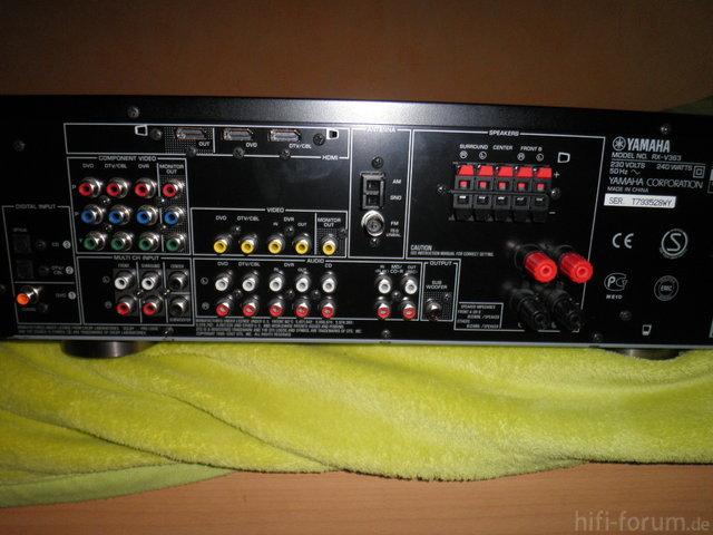 Yamaha Rx-V363 Hinten