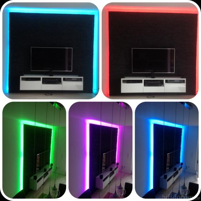 Meine TV Wand