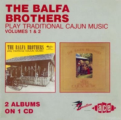 Balfa Brothers   Play Traditional Cajun Music   Cover