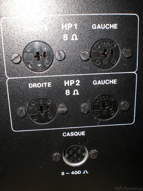 Thomson PA 3511T LS- Anschlüsse