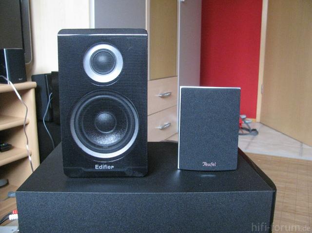 Vergleich Speaker S530D Teufel C200