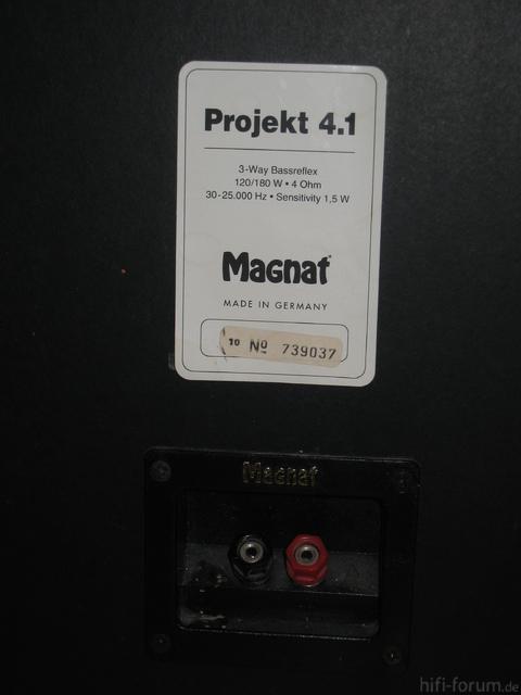 Magnat Projekt 4.1