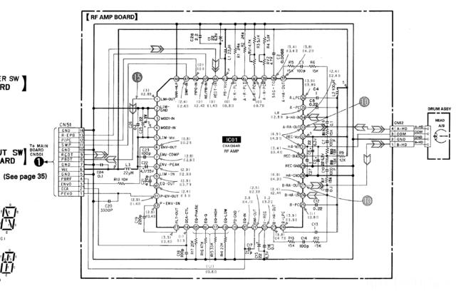 RF AMP Board DTC-670