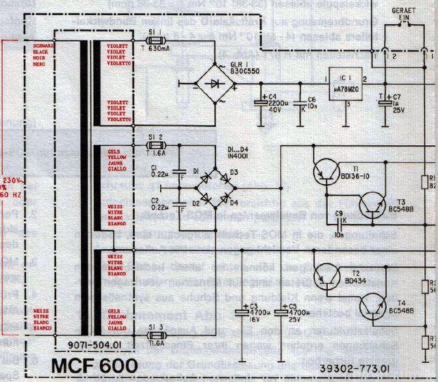 MCF600 NT Plan