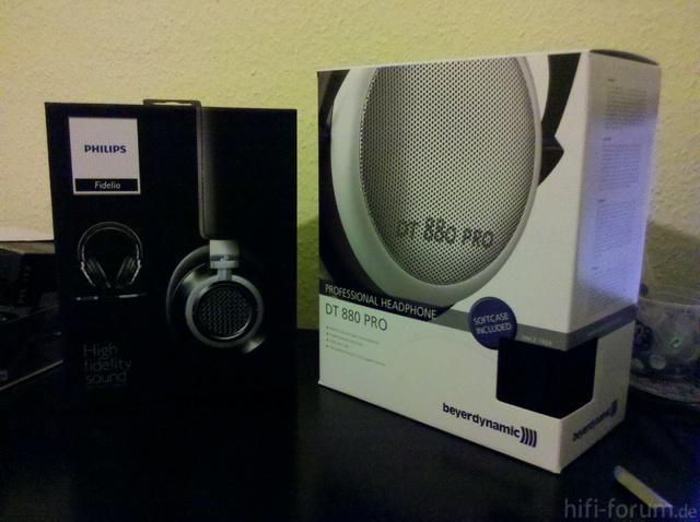 DT880 Pro Und Fidelio L1