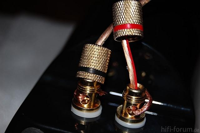 Teufel K30Fr LsKabelverbindung Mit Schraubklemme