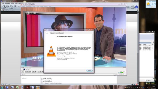 streamen mit VLC vom DXX 789