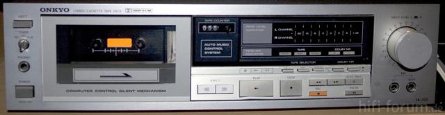 Onkyo Tape-Deck TA 200