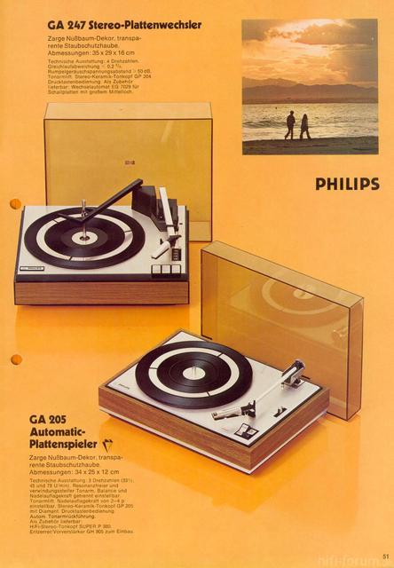 Philips 22 GA 247 - Werbung