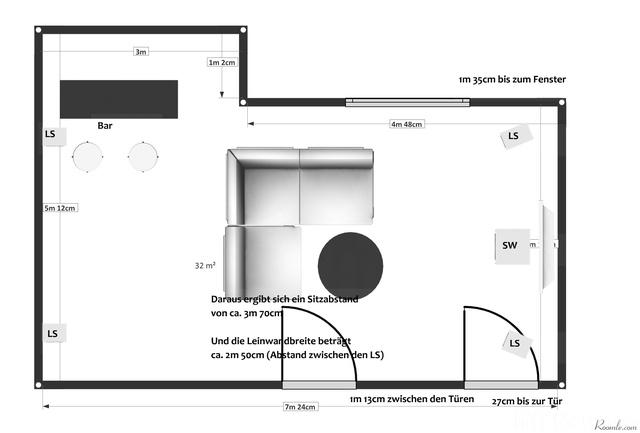 Kellerraum Grundriss Mit Fenster Und Türen