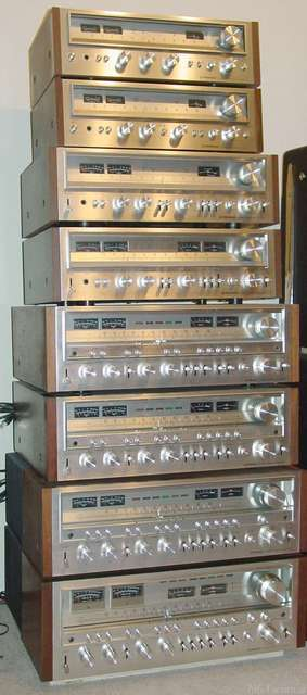 Stack Pioneer Receivers Sx 580 Through Sx 1980