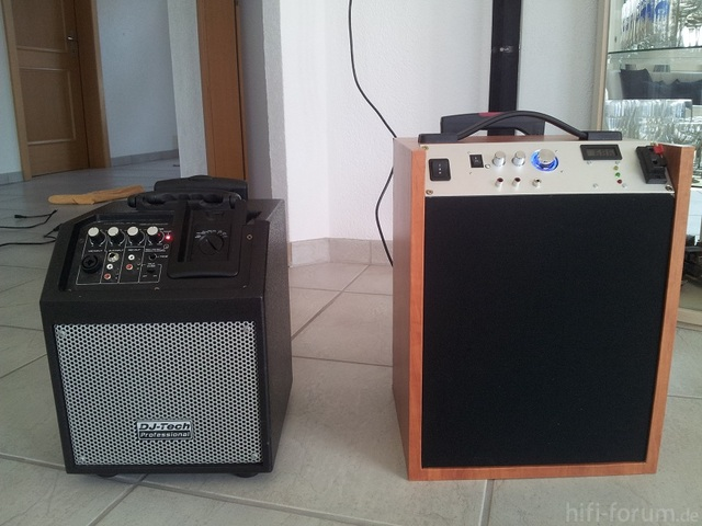 Selfmade - Soundbox, Visaton BG 20