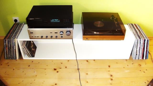 Marantz CD40, Yamaha AX470, Dual 701, Ja Die LP`s Zähl Ich Jetzt Nicht Auf :D
